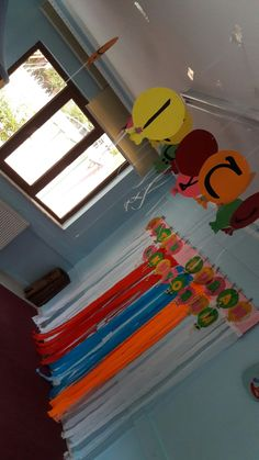 K. Merasimi Class Decoration, School Decorations, Arabic Decor, Paper Fish, Diy And Crafts, Arts And Crafts, School Frame, Islam For Kids, Islamic Teachings