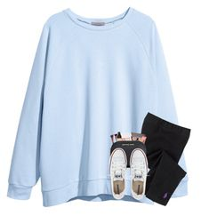 """""""frusterated ugh rtd"""" by katie-1111 ❤ liked on Polyvore featuring H&M, Lord & Taylor and Converse"""