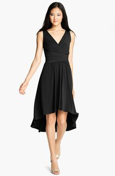 Another possible bridesmaids dress -- Suzi Chin for Maggy Boutique Pleated Front V-Neck Dress | Nordstrom
