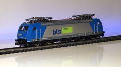 BLS Cargo (AngelTrains) Br 185 Fleischmann Tran DCX76D/F