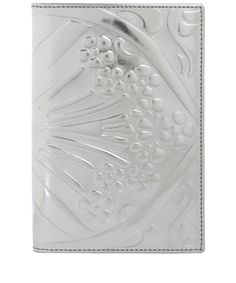 Silver metallic Ianthe passport case from the Liberty London collection.