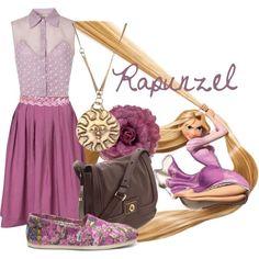 Rapunzel - Polyvore
