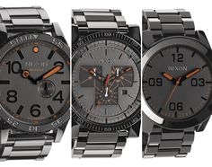 Nixon Steel Gray Pack