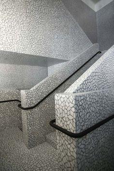 Valentino Boutique, NY_Terrazzo staircase