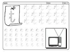 Grafismos de las letras - Secretos Marlove David, Literacy Activities, Alphabet, Texts, Cursive Letters, Hipster Stuff, Printable Letter Stencils, Index Cards