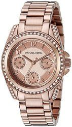 6c875dd8879e Michael Kors Women s Blair Rose Gold-Tone Watch MK5613