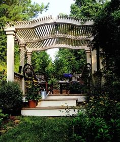 Pergola & patio inspiration <3