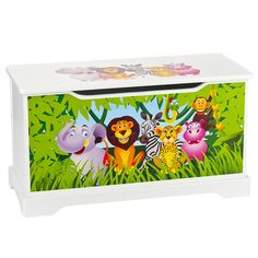 Wooden Animal Toy Boxes, Kids Wooden Table and Chairs | Furniture ...