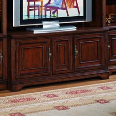Brookhaven TV Console  by Hooker Furniture