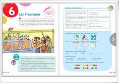"""Unidad 4 de Matemáticas de 5º de Primaria: """"Fracciones"""" Decimal, Anaya, Math Books, Interactive Activities, Fractions, Unity, United States"""
