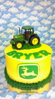 John Deere-smash cake??