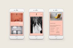Brand identity and website by Blok for LA based trend-watching company f32