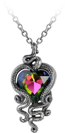 Heart of Cthulhu necklace by Alchemy Gothic