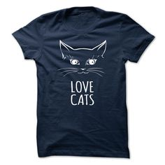 Love Cats - in the U.S.A - Ship Worldwide Select your style then click buy it now to ! Money Back Guarantee safe and secure checkout via: Paypal Credit Card. Click Add To Card pick your shirt style/color/size and (Funny Tshirts)