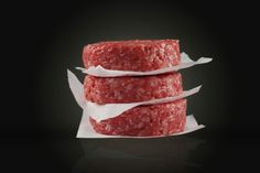 Beef burger meat patty