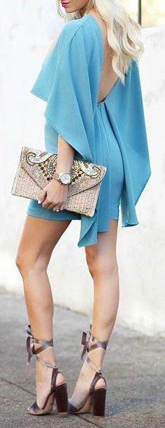 The Dress, the Clutch . I want it ALL !!!