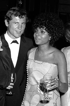 Leslie Uggams attends the RCA Party for 22nd Annual Tony Awards on April 21 1968 at the Rainbow Room in New York City