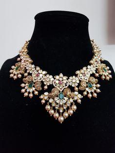 Sri balaji gems and jewellery- Sri balaji gems and jewellery - Emerald Jewelry, Gold Jewelry, Gold Necklaces, Beaded Jewelry, Jewelry Accessories, Stylish Jewelry, Fashion Jewelry, Bridal Jewelry Sets, Bridal Jewellery