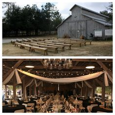 I've been asked to post pictures of my wedding, so here goes. The Barn, inside & out