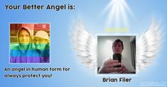 onTests.Me - EN - Which friend yours is an angel in your life?