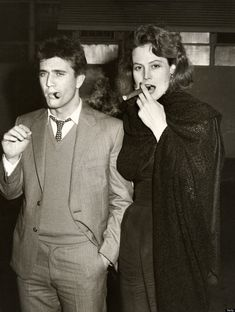 Mel Gibson and Sigourney Weaver (The Year Of Living Dangerously) in 1983.