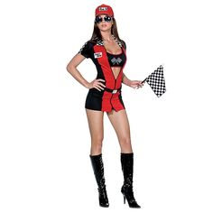 842524ed77ea32 Joy Rider Sexy Race Car Driver Costume. Sexy Costumes For WomenGirl ...