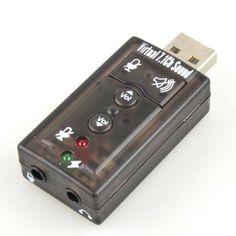7.1 Channel USB External Sound Card Audio Adapter Generic http://www.amazon.com/dp/B007HISGRW/ref=cm_sw_r_pi_dp_G0-1tb0REATB4XC1