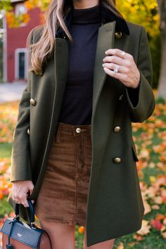 A Memorable Afternoon Spent On The Maine Coast - Gal Meets Glam Winter Outfits Women, Fall Outfits, Cute Outfits, Fashion Outfits, Womens Fashion, Fashion Trends, Workwear Fashion, Teen Outfits, Fashion Blogs