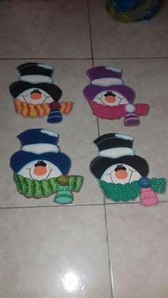 Muñecos de nieve en foami Facts