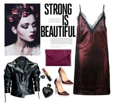 """""""Strong"""" by victoriav ❤ liked on Polyvore featuring Christian Louboutin, House of Holland, Leka, Chanel and Lipsy"""