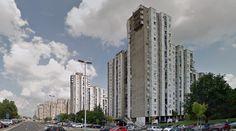 Блокови - Блок 62 (Blokovi - Blok 62) - 1948-? - #architecture #googlestreetview #googlemaps #googlestreet #serbia #belgrade #brutalism #modernism