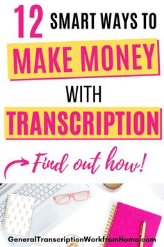 Find out how to become a transcriptionist, start a flexible transcription career working from home, and get freelance transcription jobs even if you have no experience. #workfromhomejobs #makemoneyonline #makemoneyfromhome #sidehustle Online Side Jobs, Best Online Jobs, Online Jobs From Home, Typing Jobs From Home, Online Typing Jobs, Transcription Jobs For Beginners, Transcription Jobs From Home, Start A Business From Home, Work From Home Moms