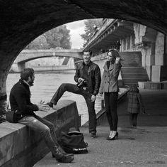 Sous le pont Saint-Michel - Paris