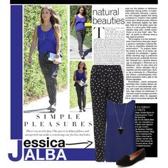 """Jessica Alba - Street Style Chic - Get the Look"" by perth-fashion-stylist on Polyvore"