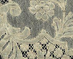 Bobbin lace, details
