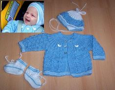 modrá soupr Kids And Parenting, Crochet, Knitting, Sweaters, Relax, Fashion, Tricot, Moda, Breien