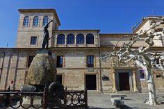 Estatua de Viriato en la plaza de Zamora que lleva su nombre