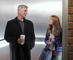 NCIS: Gibbs and Emily Fornell, daughter of Tobias Fornell and Diane Sterling