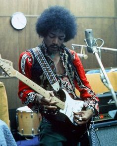 Jimi really should have been the first guitarist I pinned up here. If it weren't for him I'm not sure what the state of guitar would have been these days. He was a true artist and that shown through in his seemingly effortless playing and writing.