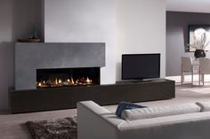 Metro 130XT Metro 130XT is an extra tall and wide version of the popular Metro frameless gas fire. The added height and width of this impressive balanced flue gas fire allows for larger, more authentic logs and higher, more impressive flames. The Metro 130XT features the exclusive DRU Slim Line II system. This means that the fire is completely frameless, with an uninterrupted view of its beautiful fire display. It has a special burner, which spreads the fire in a random pattern across t...