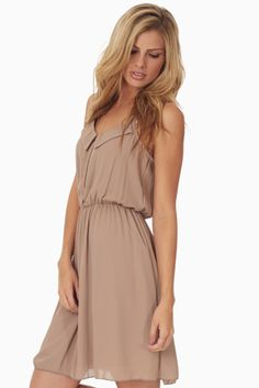 Mocha-Zipper-Front-Dress