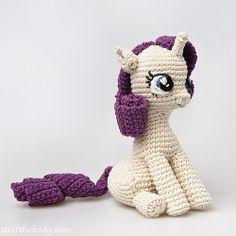 Ravelry: Sitting Pony Amigurumi Pattern pattern by StuffTheBody