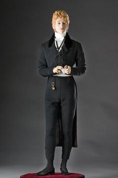 Beau Brummell is credited with simplifying and modernizing men's dress - This is the mixed media work of George S. Stuart