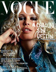 Claudia Schiffer for Vogue Paris, April 2002