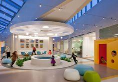 IIDA Announces Opening of Annual Healthcare Interior Design Competition Healthcare Architecture, Hospital Architecture, Interior Design Portfolios, Interior Design Magazine, Medical Design, Healthcare Design, Children's Clinic, Kindergarten Design, Hospital Design