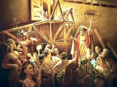 """The wicked people of Noah's day prior to the great flood must have thought Noah and his immediate family were fools. They may have persecuted them, maybe even harassing their efforts to build the ark. The Holy Bible says that """"they (the wicked people) took no note until the flood came and swept them all away"""". Christ Jesus later said that at the time of the end of the last days of this present system of things, that wicked people would be just like they were in the days of Noah!"""