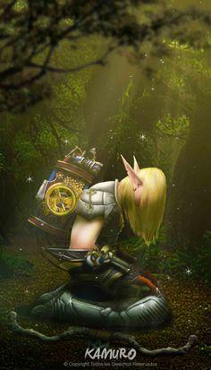 #elfo #concept #art #photoshop #fanart #warcraft #movie