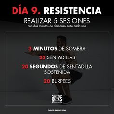 Día 9. Resistencia. #RetoDelBoxeador #Box #Boxing #CletoReyes #workout #training