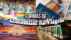 DICAS PARA ECONOMIZAR  NA VIAGEM | Mi Alves Youtube, Teaching, Voyage, Youtube Movies