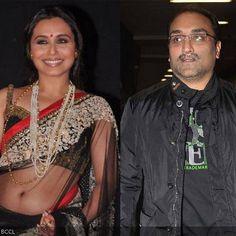 Filmmaker Aditya Chopra and actor Rani Mukherji got married last night in Italy.